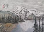 加拿大洛磯山脈及阿拉斯加寫生册 (四開) Sketches of Canadian Rockies and Alaska (album of 4 leaves)