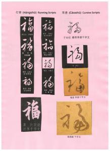 歷代前賢寫福字 (三)