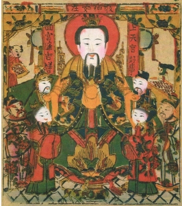 Deity of Hearth (灶君)