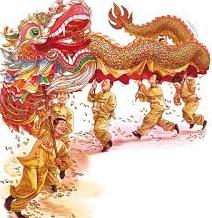 Dragon dance (舞龍)