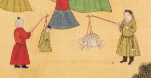 toad lantern, figure lantern