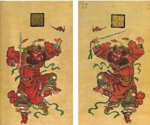 Ménshén  (門神), Gate Gods