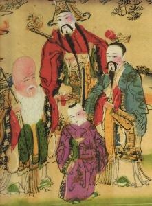 Three Star Gods (福,祿,壽三星)