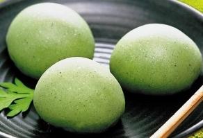 qingtuan, green dumplings