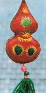 scented sachets (hsiang bao)(香囊)