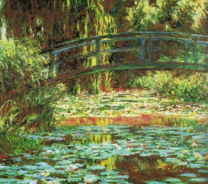 Pool of Water Lilies, Signed and dated, Claude Monet 1900; Oil on canvas; 89.2 x 100.3 cm, The Art Institute of Chicago