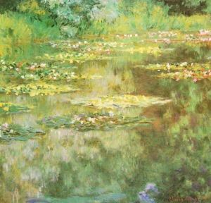 Signed and dated: Claude Monet, 1904. Oil on canvas; 87.6 x 90.8 cm. The Denver Art Museum