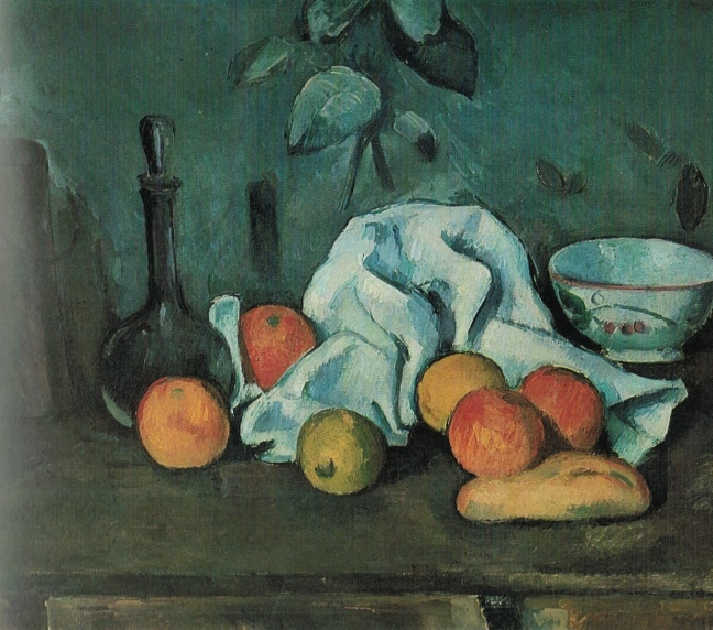 Paul Cézanne (1839 – 1906), Fruit, ca 1879-80, oil on canvas, 45 x 54 cm, The Hermitage