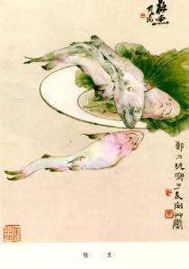 Zhèng Nǎiguàng 鄭乃珖 (1911—2005) Flathead《荣宝斋画谱 郑乃珖》Flathead