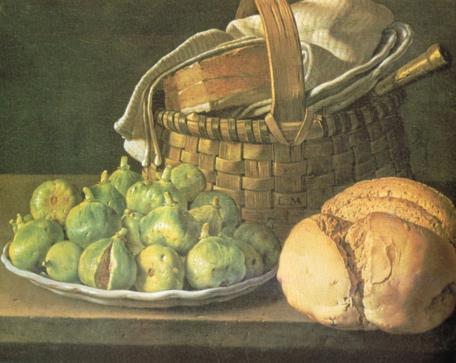 Melendz, Still life with Figs, oil on canvas, 37 x 49 cm, The Louvre