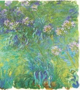 Claude Monet, circa 1915 - 1920, oil on canvas, 200 x 180 cm, Collection of Mr and Mrs J Slifka
