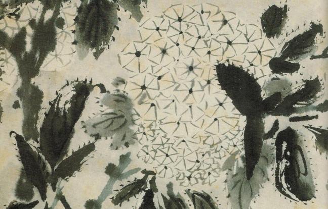 Shitao (1642 - 1707), dated 1694, ink on paper, album 31.2 x 20.4 cm, Shanghai Museum