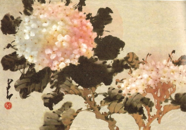 Chao Shao-ang (趙少昂) (1905 – 1998), ink and Chinese watercolour on paper