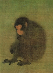 Attributed to Máo Sōng (毛松), Sung Dynasty (宋朝), Monkey (猴圖)