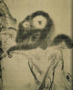 Muqi 牧谿 (1210 ? – 1270 ?), Sung Dynasty (宋朝), Gibbon (猿)