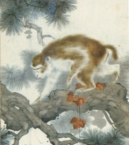 Liú Kuílíng (劉奎齡) (1885 – 1967) Monkey and the Pine Tree (松猴圖)