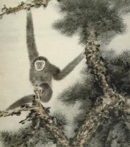 Zhang Daqian (張大千) (1899 – 1983), Ape (猿)