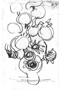 sketches of van Gogh
